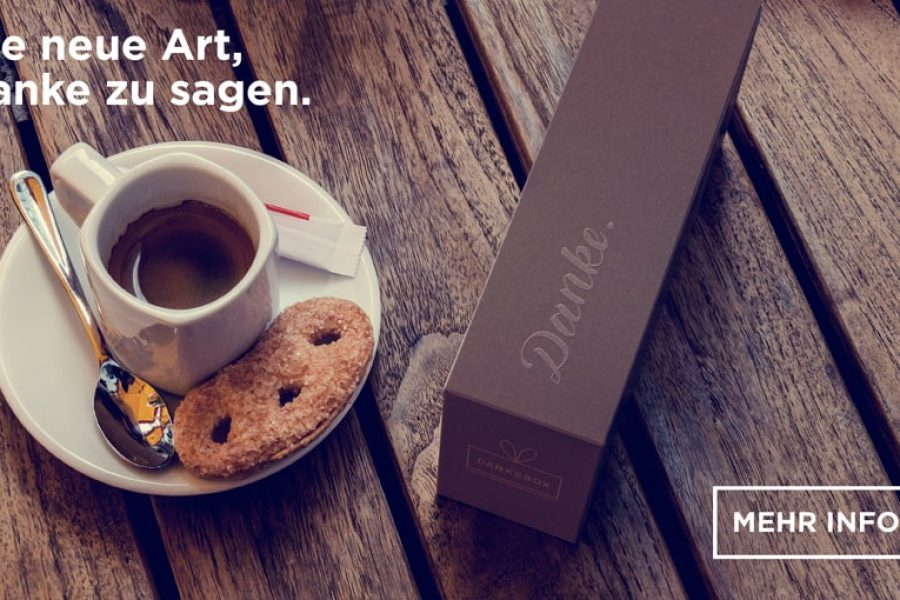 Dankebox macht das Schenken smart – Start-up sichert sich Investment